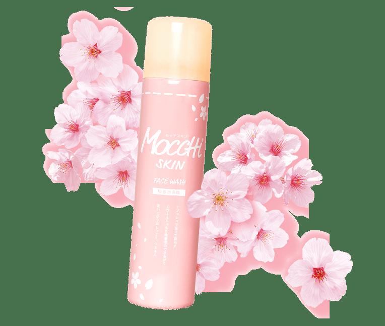 春限定♡もちもち吸着泡洗顔『モッチスキン桜』