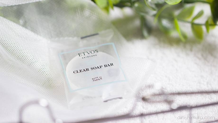 エトヴォス「セラミドモイスチャーセット」の洗顔石鹸